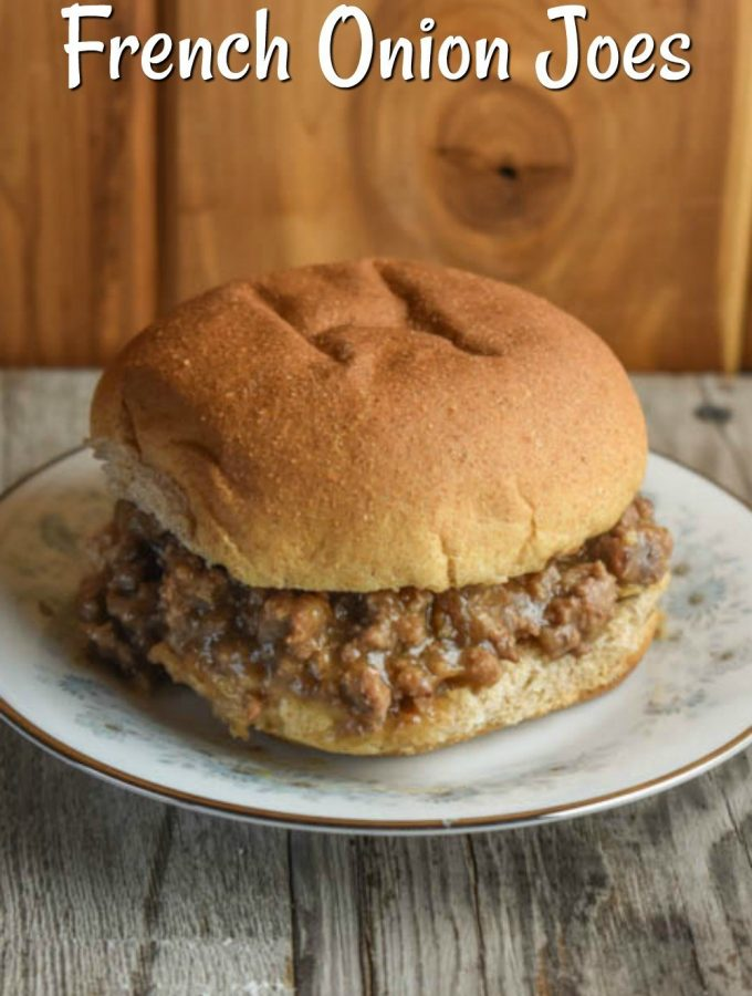 FRENCH ONION JOES - Weekend Potluck