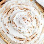 Giant Skillet Cinnamon Roll – Weekend Potluck 478