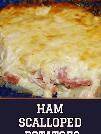 HAM SCALLOPED POTATOES - Weekend Potluck 358