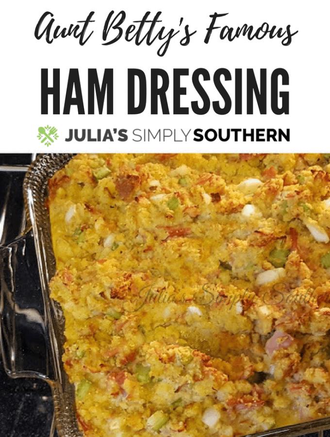 Ham Dressing - Weekend Potluck 346