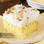 Hawaiian Dream Cake ~ Weekend Potluck 229