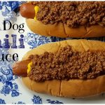 Hot Dog Chili Sauce – Weekend Potluck 277