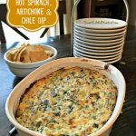 Hot Spinach, Artichoke and Chile Dip  – Ah-Mazing!