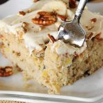 Hummingbird Sheet  Cake – Weekend Potluck 294