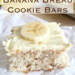 2-Ingredient Banana Bread Cookie Bars – Weekend Potluck 211