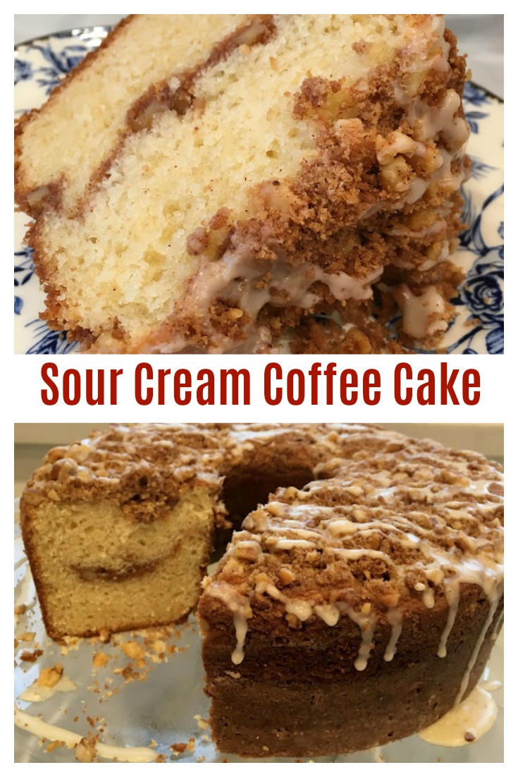 SOUR CREAM COFFEE CAKE - Ina Garten's Tried & True Recipe