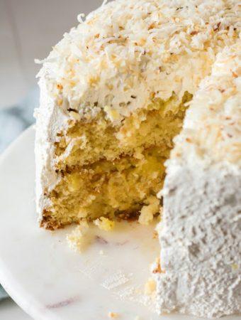 Haleakala Cake - Weekend Potluck 374
