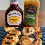 Italian BBQ Chicken Marinade (3-Ingredient Recipe)