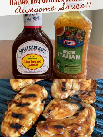 ITALIAN BBQ CHICKEN MARINADE - Sweet Little Bluebird