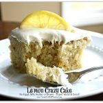 Lemon Crazy Cake (No Eggs, Milk or Butter)