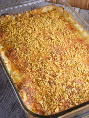 Old Fashioned Cheesy Cabbage Casserole - Weekend Potluck 341