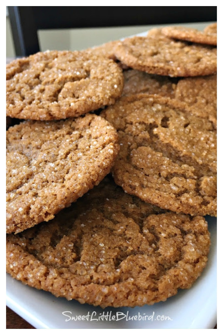 The Best Molasses Cookies Recipe - Old Fashioned Recipe