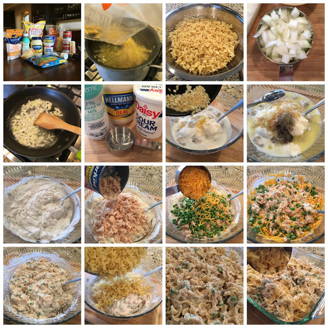 the best old fashioned tuna noodle casserole  sweet