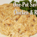 One Pot Savory Chicken & Rice – Weekend Potluck 360