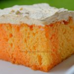 Orange Cream Cake – Weekend Potluck 336