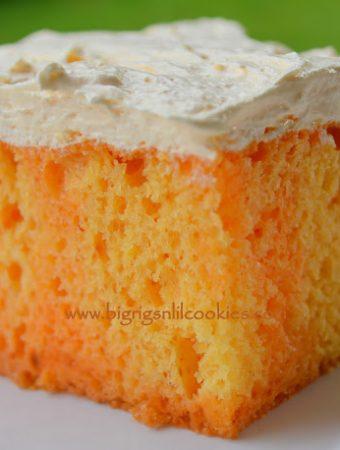 Orange Cream Cake - Weekend Potluck