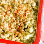Best Old School Pea Salad – Weekend Potluck 376