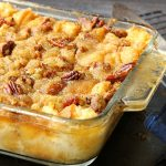 Pecan Pie Bread Pudding – Weekend Potluck 347