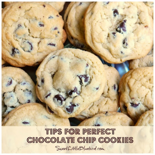 Perfect Chocolate Chip Cookies - Sweet Little Bluebird