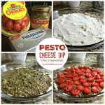 Pesto Cheese Dip – Only Three Ingredients