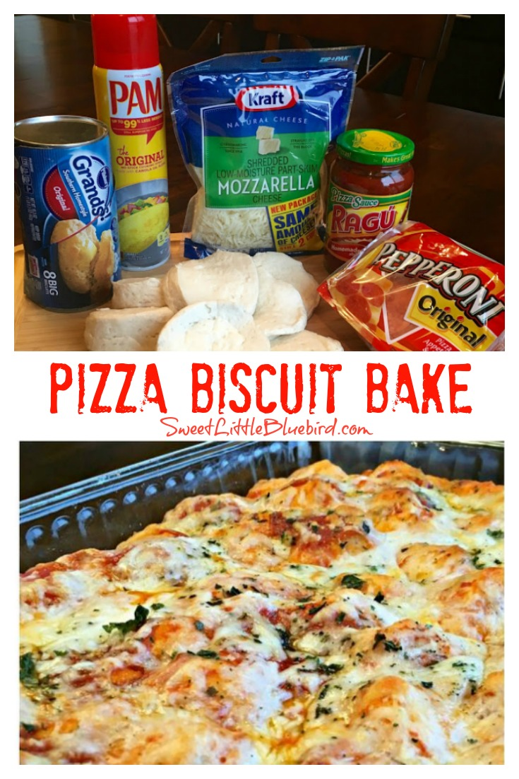Pizza Biscuit Bake - Quick and Easy
