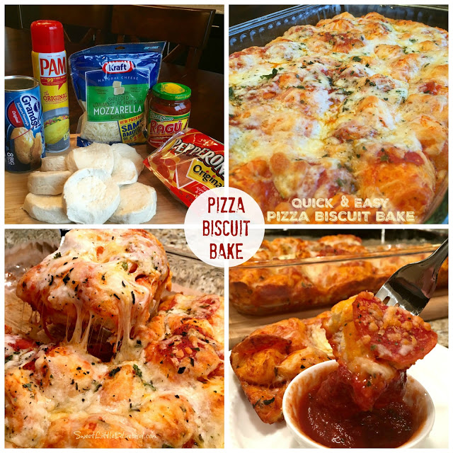 Pizza Biscuit Bake