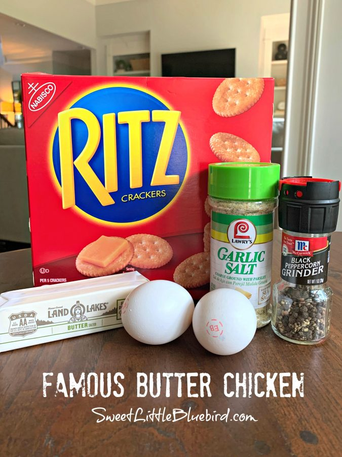 FAMOUS BUTTER CHICKEN (aka, RITZ CRACKER CHICKEN ) - Sweet Little Bluebird