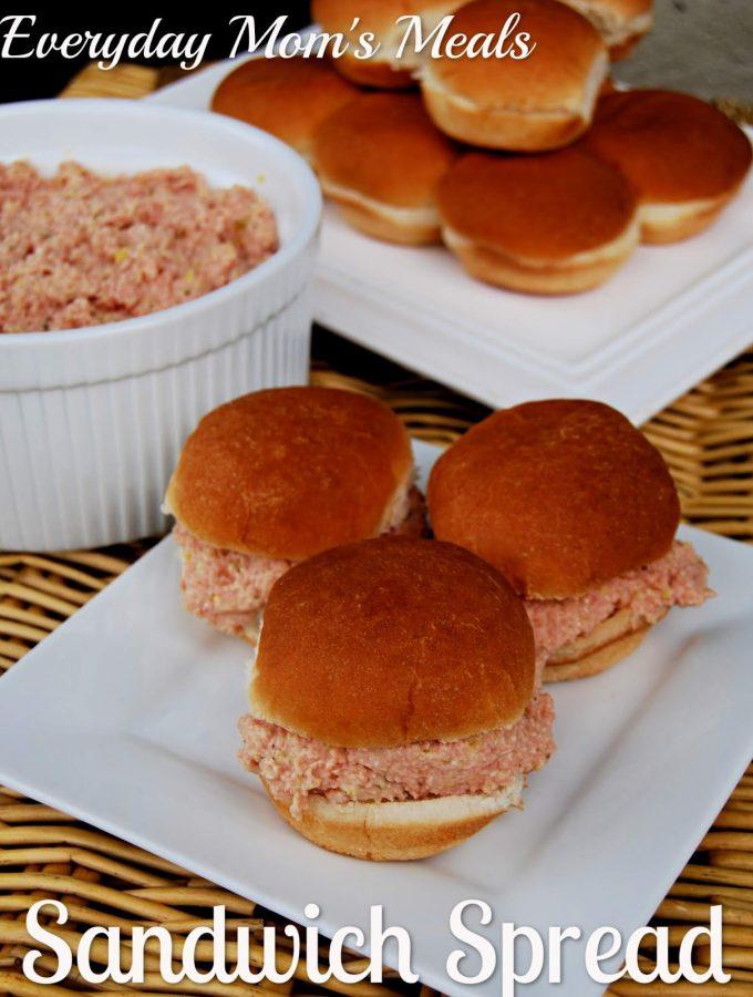 Sandwich Spread - Weekend Potluck 381