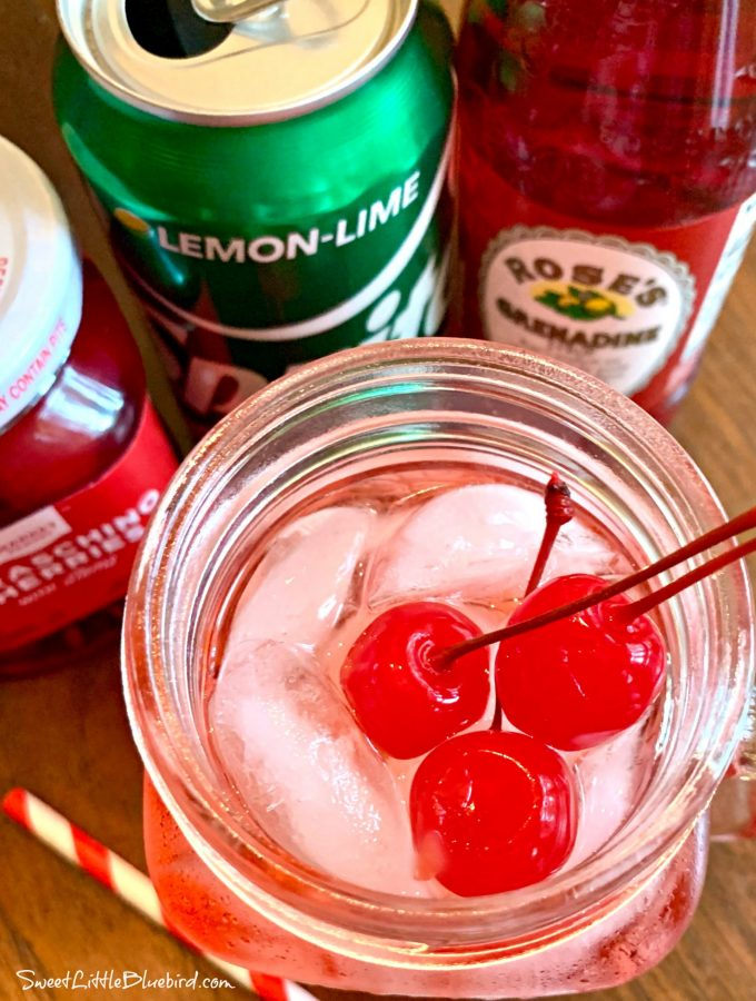 Shirley Temple Recipe (Mocktail)
