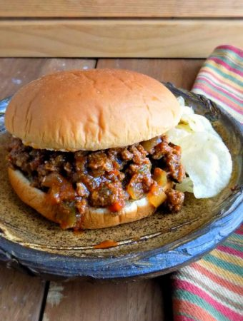 OLD FASHIONED SLOPPY JOES - Weekend Potluck 417