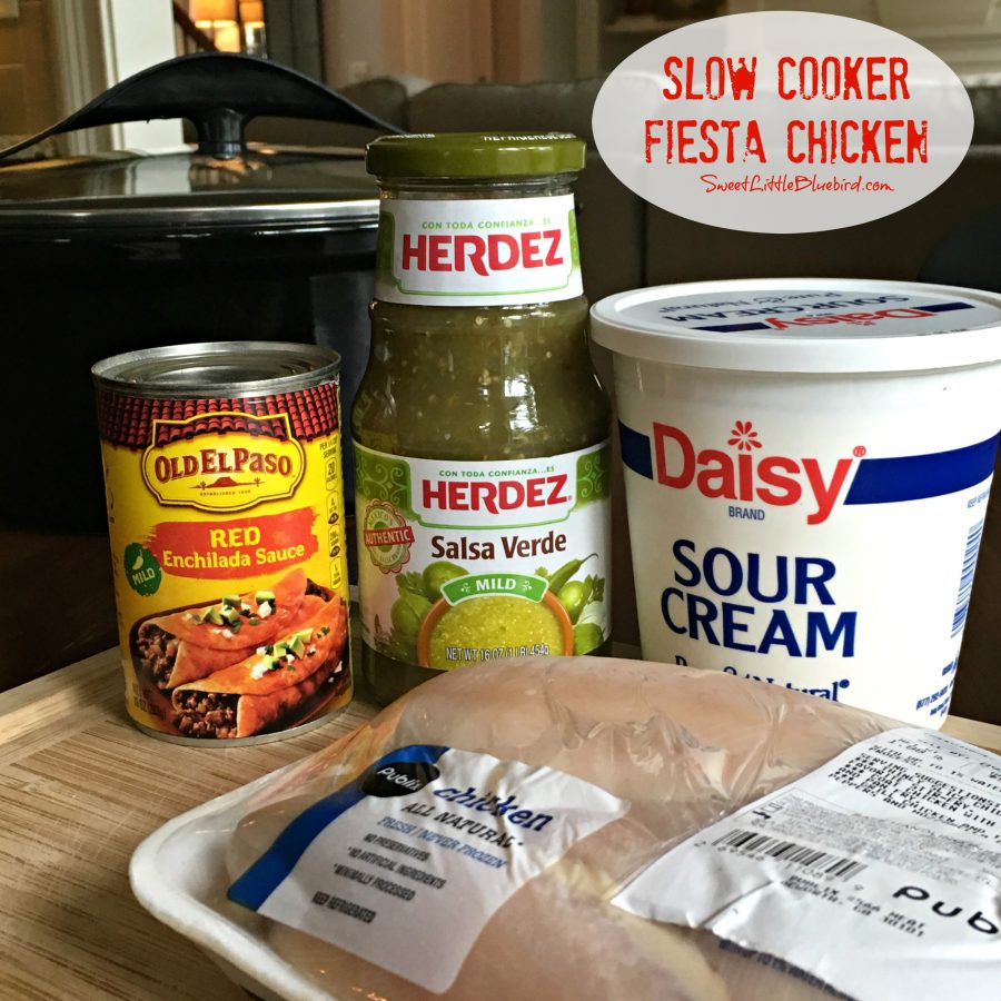 Slow Cooker Shredded Mexican Chicken Ingredients