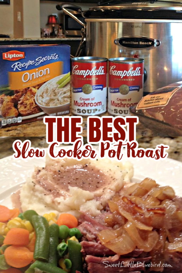 The Best Slow Cooker Pot Roast Recipe