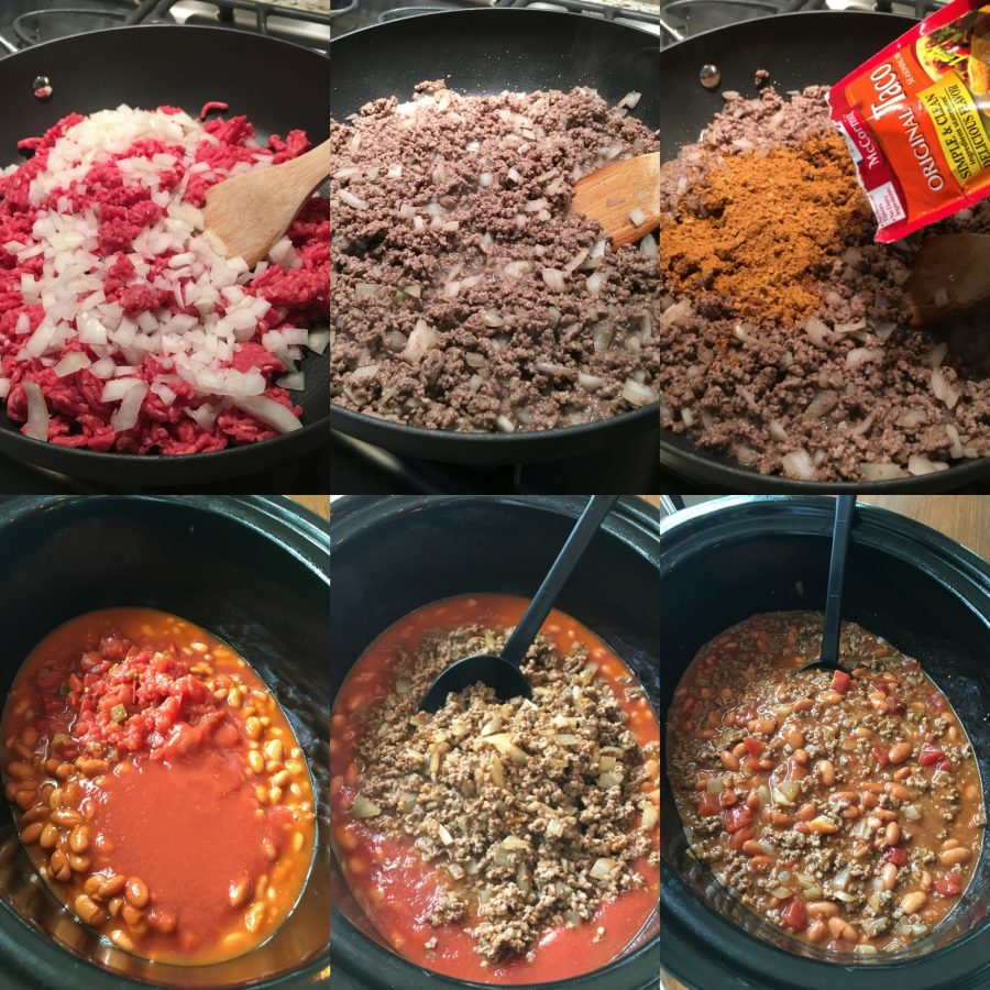 How To Make Slow Cooker Smothered Fritos Taco Bowls