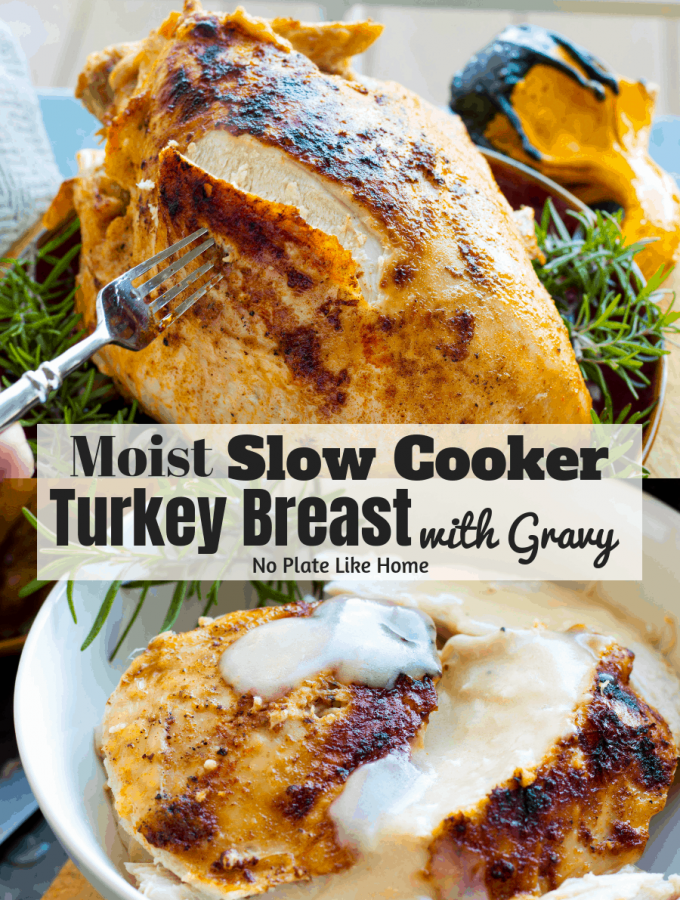 SLOW COOKER TURKEY BREAST - Weekend Potluck 402