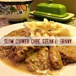 Slow Cooker Cube Steak and Gravy (Quick & Easy)
