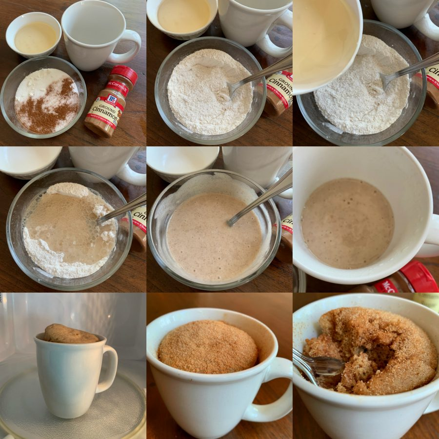 SNICKERDOODLE CRAZY MUG CAKE TUTORIAL - Sweet Little Bluebird