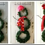 DIY  Versatile Snowman Wreath for  Winter Decor