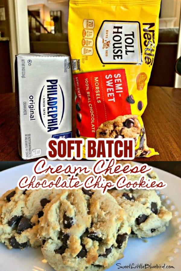 SOFT BATCH CREAM CHEESE CHOCOLATE CHIP COOKIES