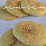 Sour Cream Lunch Box Cookies – Weekend Potluck 183