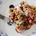 Easy Stuffed Pepper Casserole – Weekend Potluck  297