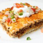 Deep Dish Taco Squares – Weekend Potluck 264