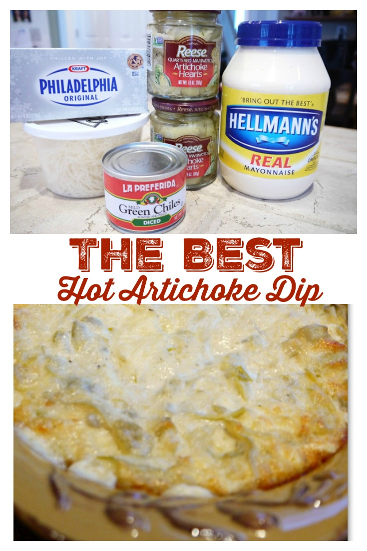 The Best Hot Artichoke Dip Recipe from Sweet Little Bluebird