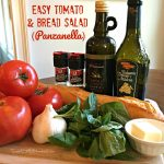 Easy Tomato and Bread Salad (Panzanella)
