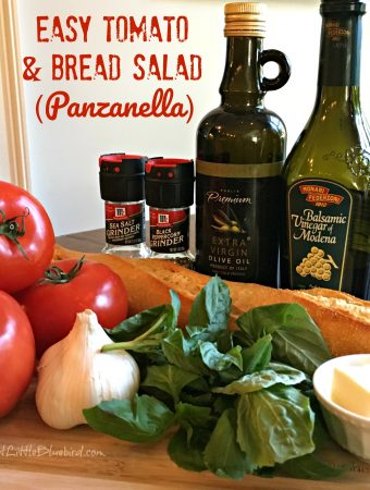 Easy Bread and Tomato Salad (Panzanella)