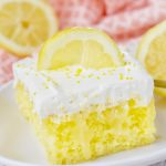 Triple Lemon Poke Cake – Weekend Potluck 372
