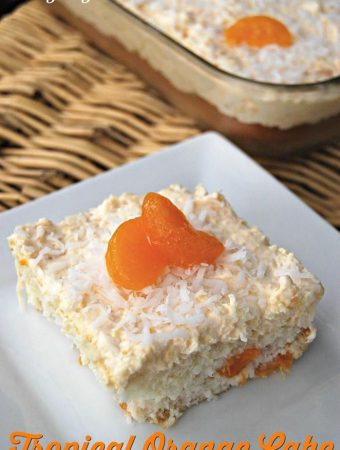 Tropical Orange Cake