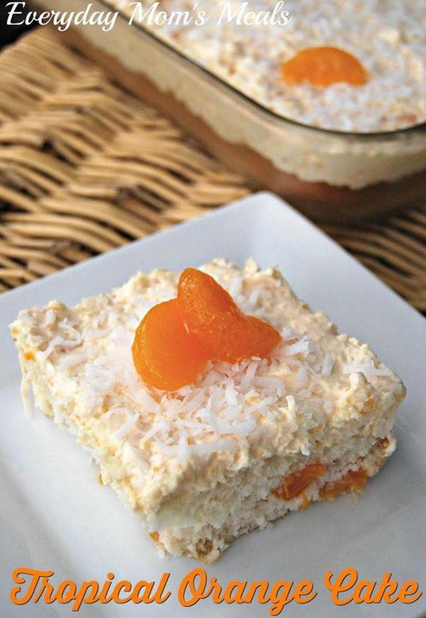 Tropical Orange Cake