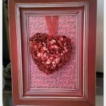 DIY Framed Valentine's Day Decor