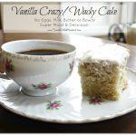 Vanilla Crazy Cake &  Spiced Crazy Cake
