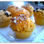 Easy Cake Mix Mini Muffins made with Pumpkin